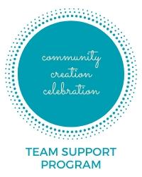 poster for Team Support Program